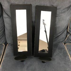 Set of Wall scones mirror home decor